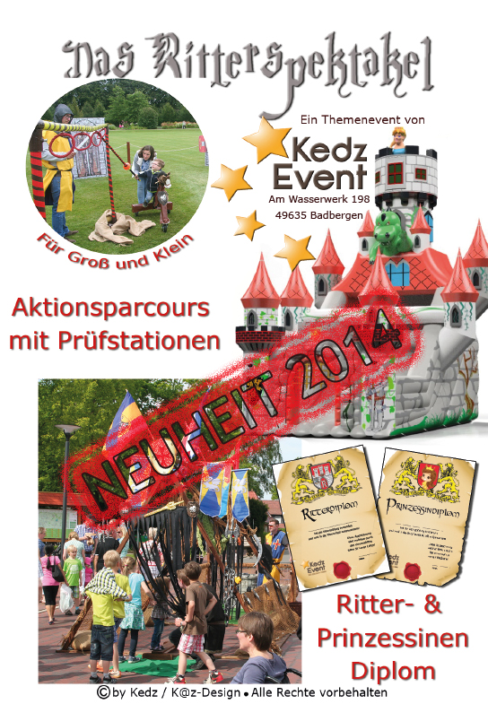 Neuheit 2014 Ritterspektakel