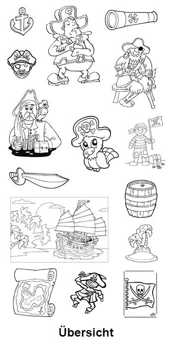 Piraten Anker Malvorlage Coloring And Malvorlagan